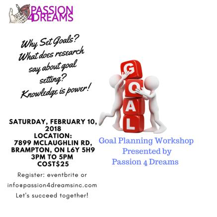February 10 Goal Setting