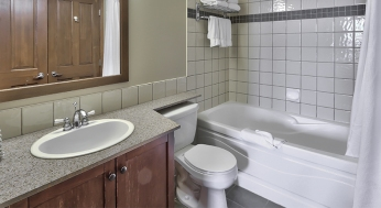 1 bedroom suite washroom